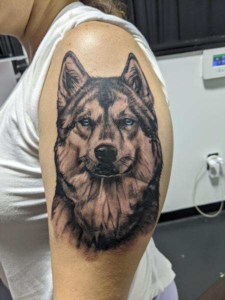 Tattoos - Wolf tattoo - 143317