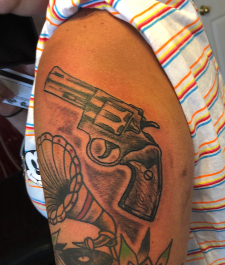 Tattoos - pistol - 139383