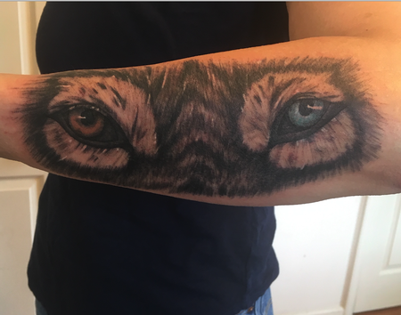 Tattoos - wolfe eyes - 139494