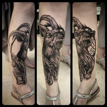 Tattoos - Black and Grey - 130221