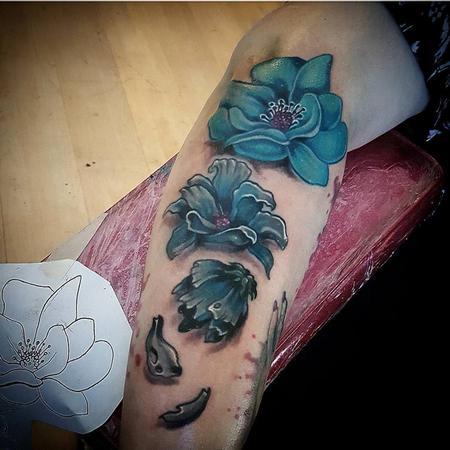 Tattoos - Flowers - 130240