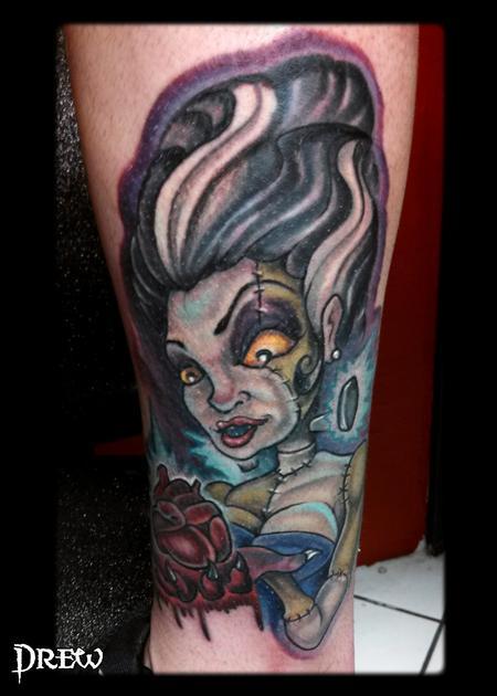 Tattoos - Bride of Frankenstein - 94600