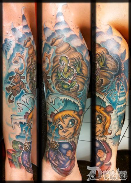 Tattoos - Holly Jolly Grinchmas  - 94682