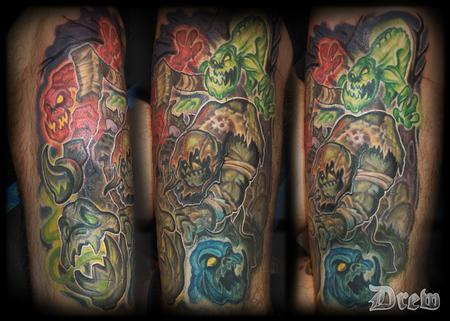 Tattoos - Yorick the Gravedigger - 94684