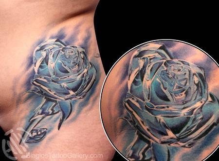 Tattoos - Crystalline Rose - 80599