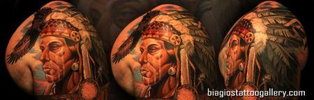 Tattoos - Indigenous American Heritage - 74427