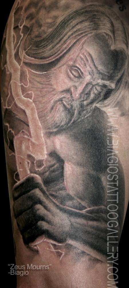 Tattoos - Zeus Mourns - 97963