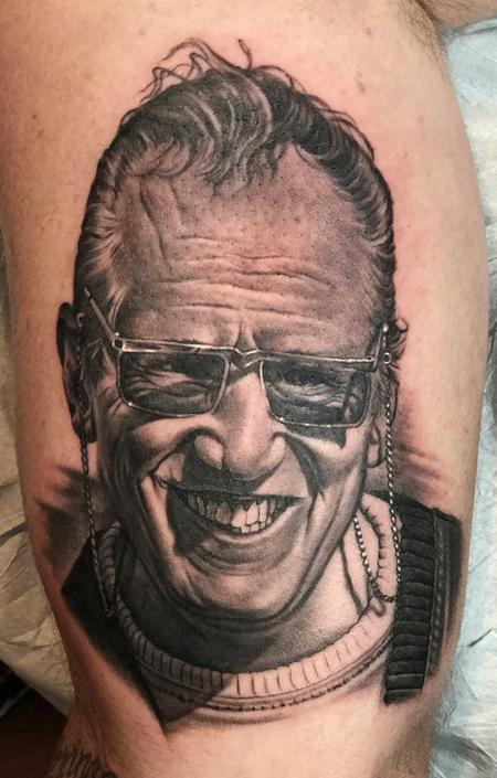 Tattoos - Allen Davis Portrait Tattoo - 138816