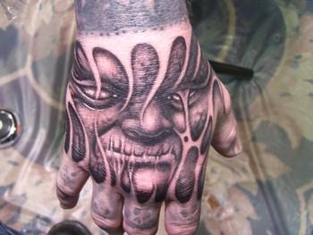 Tattoos - Face Tattoo - 39667