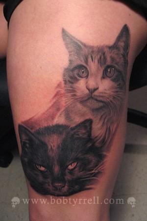Tattoos - cats tattoo - 34623
