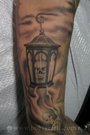 Tattoos - evil lamp - 34620