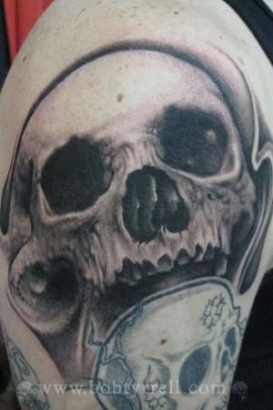 Tattoos - Skull - 34617