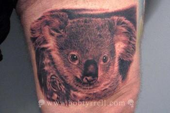 Tattoos - Koala Bear - 34611