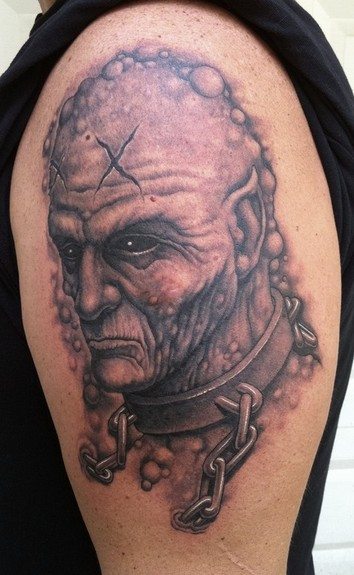 Tattoos - Chained demon - 51571