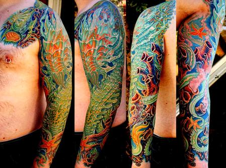 Tattoos - Collaboration with Guy Aitchison - 132243