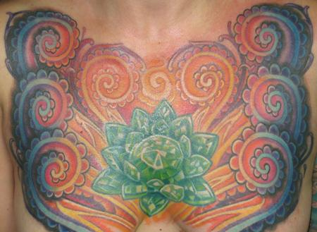Tattoos - Chest Tattoo - 117181