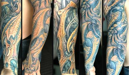Tattoos - Collaboration with Guy Aitchison 2017 - 132246