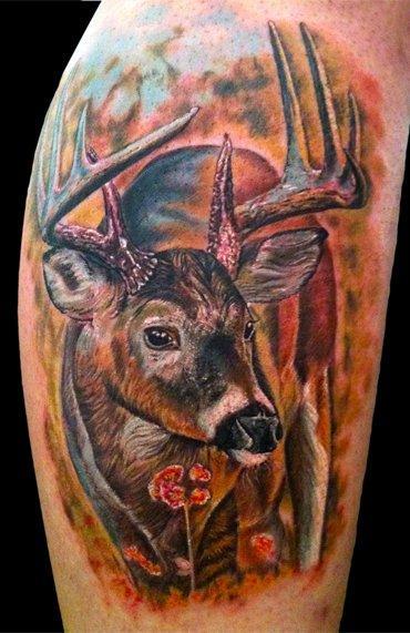 Tattoos - Deer - 55505