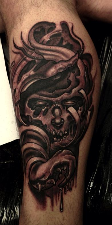 Tattoos - Freehand original dark art - 76564