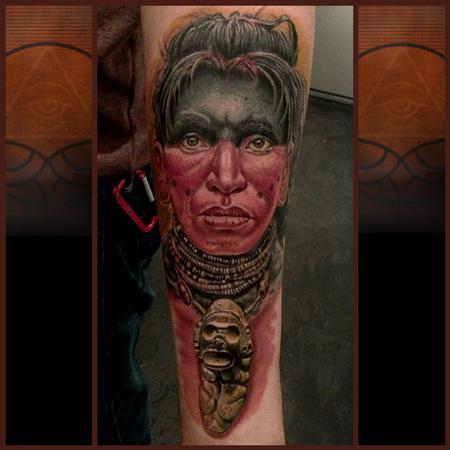 Tattoos - Taino Warrior - 76682