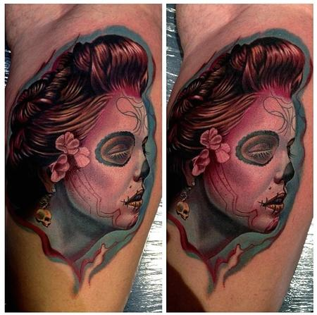 Tattoos - Day of the Dead Woman - 89481