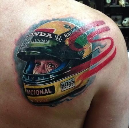 Tattoos - Ayrton Senna  - 90051