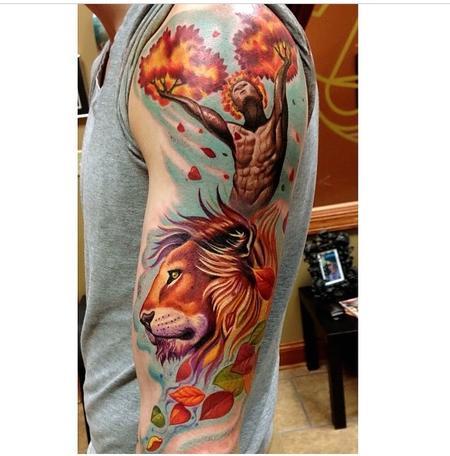 Tattoos - Nature Sleeve  - 91842