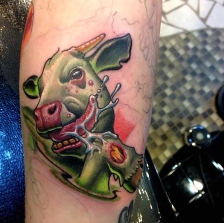 Tattoos - Diseased Mad Cow  - 93662