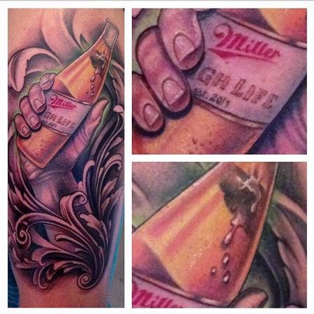 Tattoos - Miller High Life  - 93663