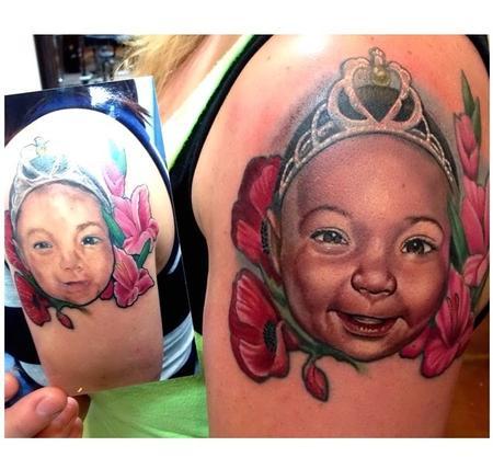 Tattoos - Portrait Rework  - 94016