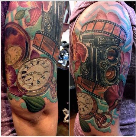 Tattoos - Rolleiflex Camera - 95524