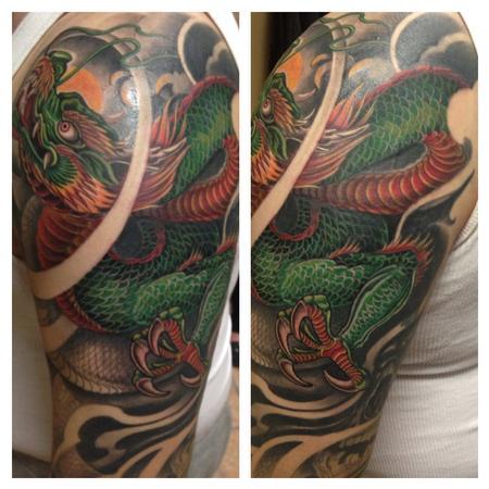 Tattoos - Dragon (In Progress) - 99885