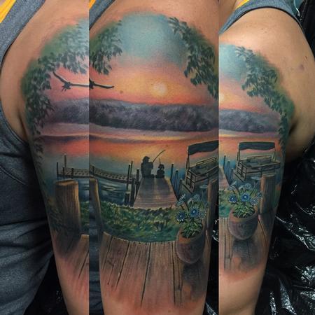 Tattoos - Sunset Memorial Scene - 108674
