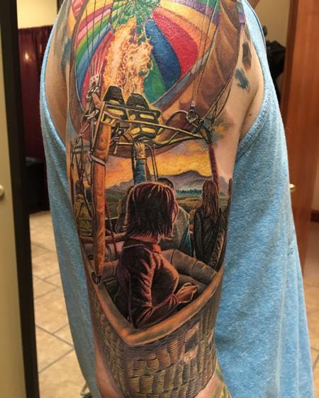Tattoos - Hot Air Balloon - 114551
