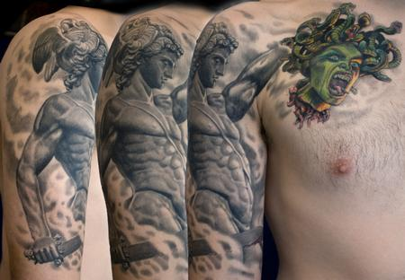 Tattoos - Perseus with the head of Medusa - 71195