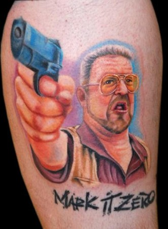 Tattoos - Walter from The Big Lebowski - 43076