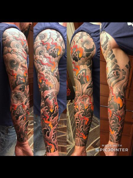 Tattoos - 4 elements Sleeve - 143378