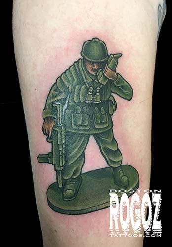Tattoos - Army figure - 107920