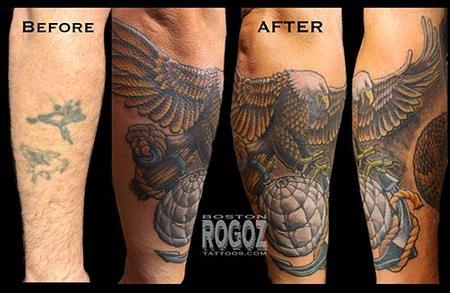 Tattoos - EGA coverup - 93327