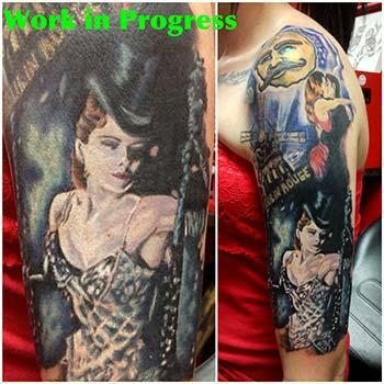 Tattoos - Moulin Rouge Tattoo - 73588