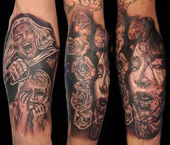 Tattoos - tortured_girls_full_tattoo - 74075