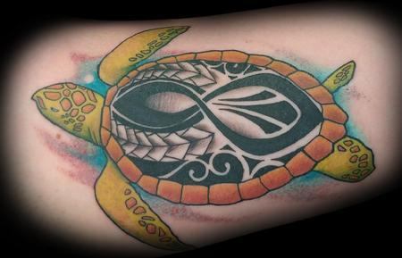 Matt Folse  - Polynesian turtle