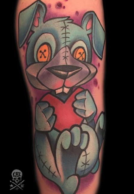 Tattoos - Bunny - 126687