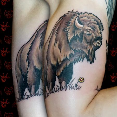 Tattoos - Bison - 125349