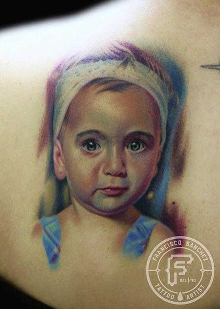 Francisco Sanchez - baby portrait