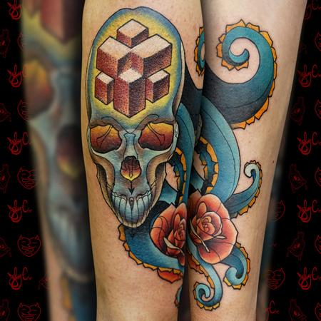 Tattoos - Octo-Skull - 126406