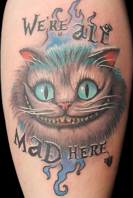 Tattoos - Cheshire Cat - 128725