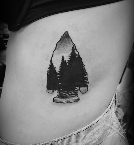 Tattoos - Arrowhead - 132938