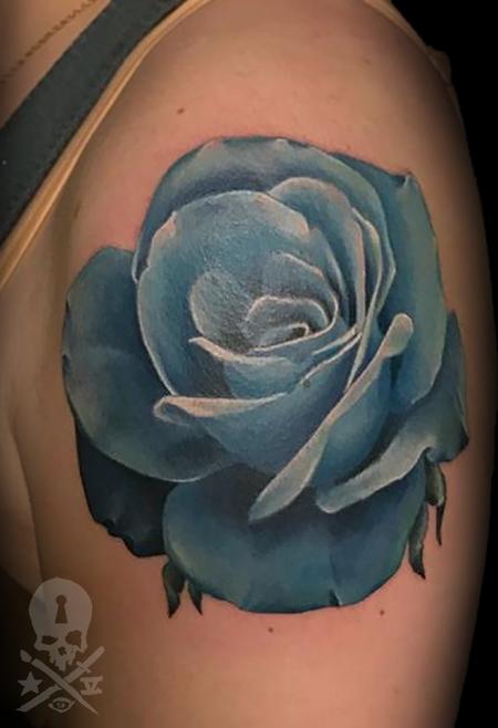 Calvin F. Xavier III - Blue Rose