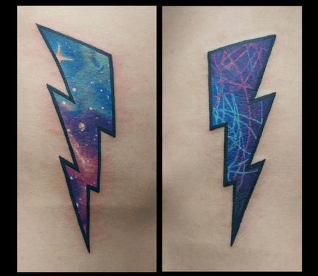 Tattoos - Lightning Bolts - 128893